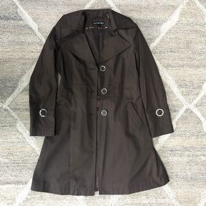 💘Water Resistant Brown Trench Coat / Rain Coat